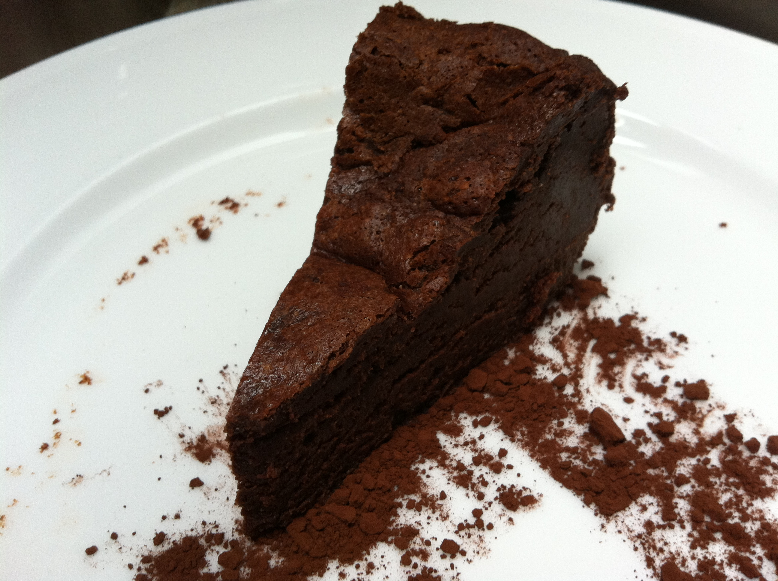 Ottolenghi Flourless Chocolate Cake