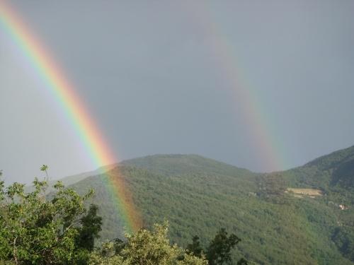 rainbow tuscany