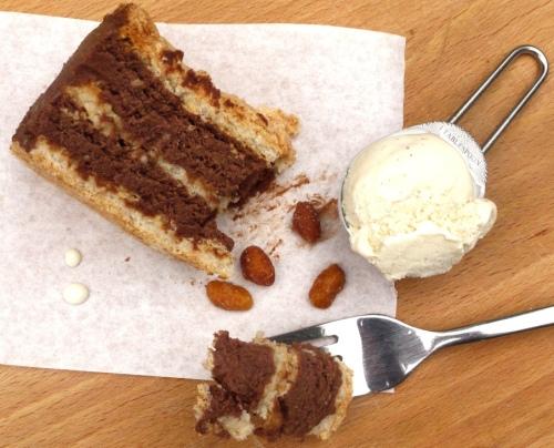 peanut butter mousse cake