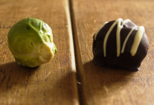Christmas sprout & truffle