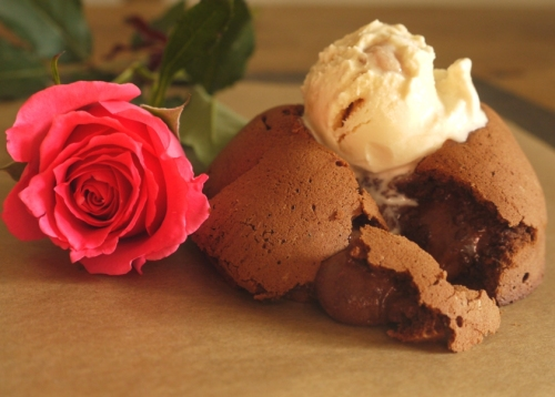 Chocolate Peanut Butter Fondants - thelittleloaf