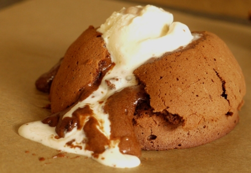 Chocolate Peanut Butter Fondants