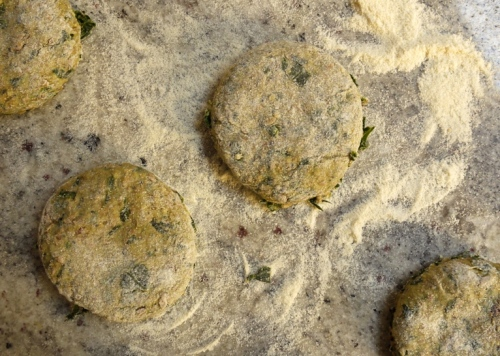 Seeded Spinach Muffins