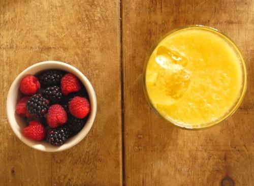 Berries & juice