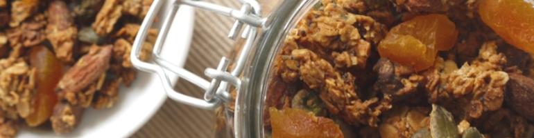 Apricot & Pistachio Granola