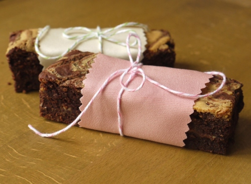 Caramelized White Chocolate Brownies