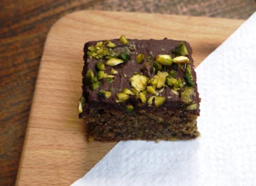 Chocolate Pistachio Squares