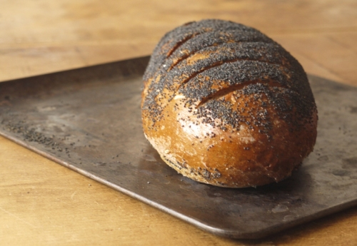 Black Pepper Rye Loaf