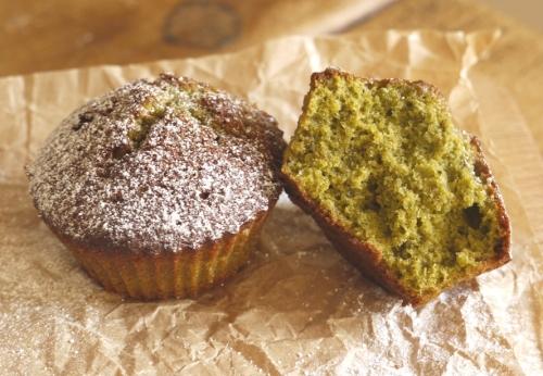 Green Tea, Honey & Pistacio Financiers