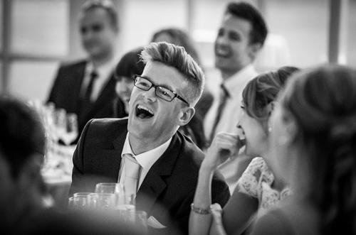 luke laughing