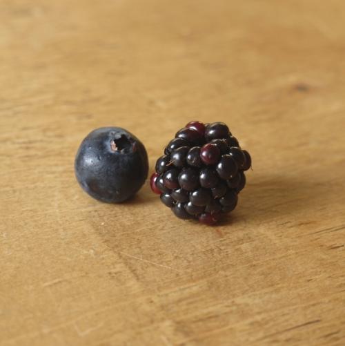 Baked Blueberry, Blackberry & Coconut Oatmeal