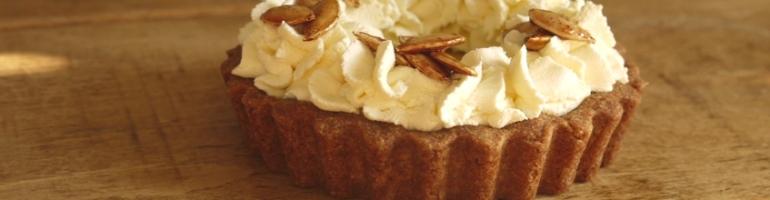 Maple Pumpkin Pie, Wholemeal Spelt Crust