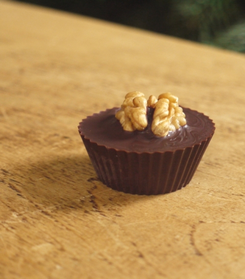 Crunchy Maple Walnut Butter Cups