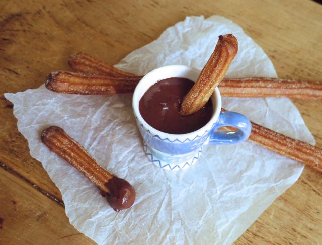 Baked churros